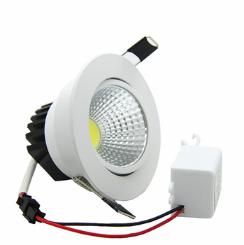 Pritemdomi LED Downlight 3W 5W 7W 10W 12W Vietoje, LED DownLight Pritemdomi 220V LED Spot Embedded Downlight Baltųjų rūmų