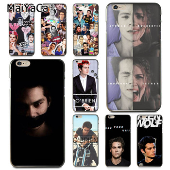 Teen Wolf dylan o ' brien Coque Telefono dėklas skirtas iphone 11 12 Pro XR XS Max 8 7 6 6S Plus X 5 5S SE